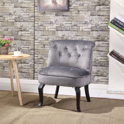 Jiya Accent Slipper Chair Upholstery: Royal Gray