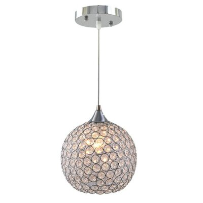 1-Light Globe Pendant