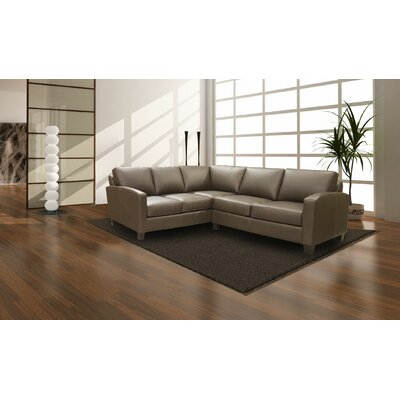 Coja Adeen 2 Piece Sectional - Base Finish: Walnut, Color: EXP 2113 Chestnut at Sears.com