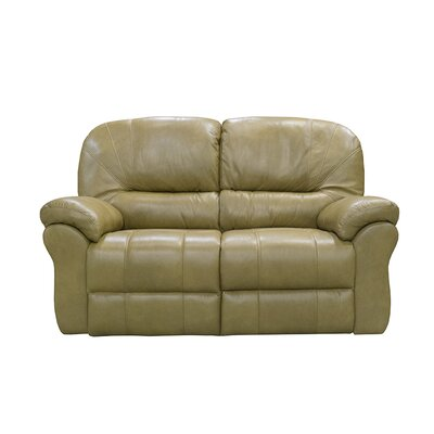 Frankfort Power Reclining Loveseat Upholstery: Medium Brown