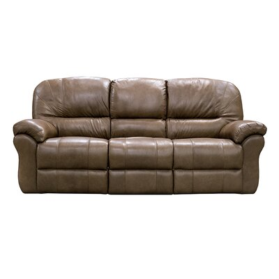 Frankfort Power Reclining Sofa Upholstery: Dark Brown