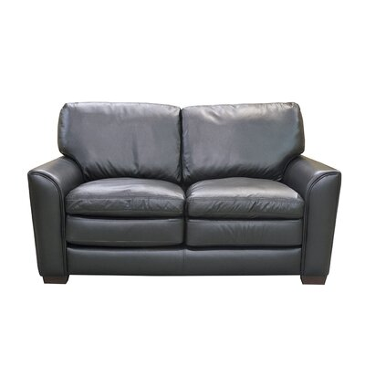 Sacramento Leather Loveseat