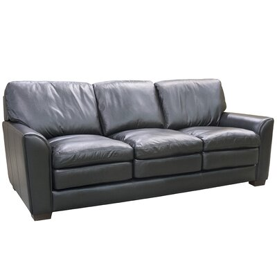 Sacramento Top Grain Leather Sofa and 2 Chairs Set