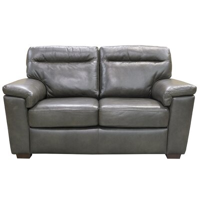 Little Rock Leather Loveseat