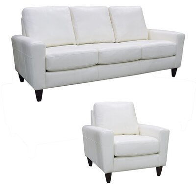 Atlanta Top Grain Leather Sofa and Chair Set