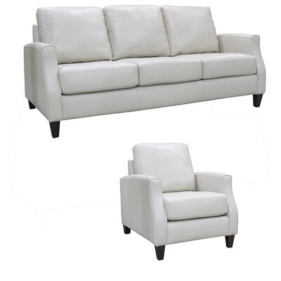 Springfield Leather 2 Piece Living Room Set