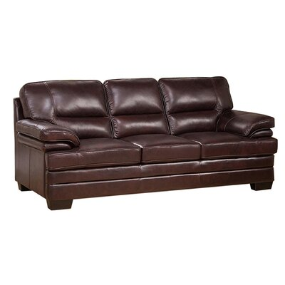 Hutcherson Leather Sofa