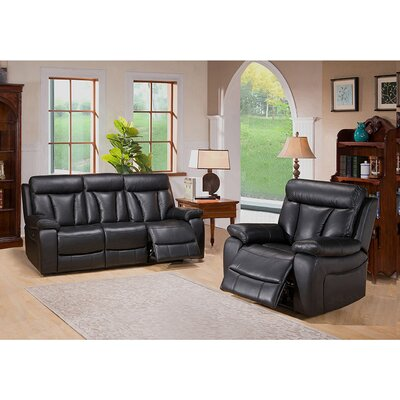 Plymouth Sofa and Recliner Set
