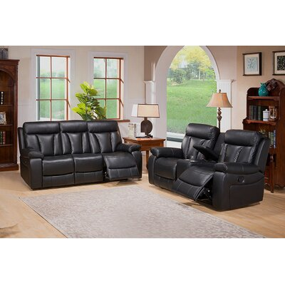 Plymouth Sofa and Loveseat Set