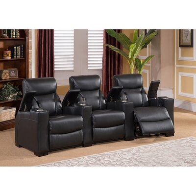 Bristol Home Theater 3 Row Recliner