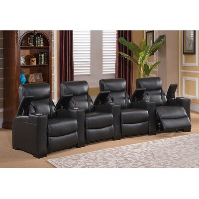 Bristol Home Theater 4 Row Recliner