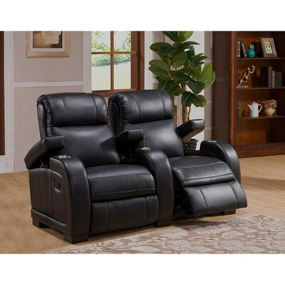 Leeds Home Theater 2 Row Recliner