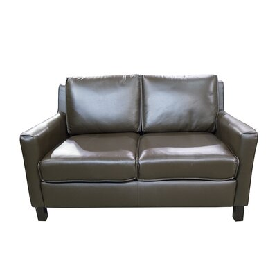 Denver Standard Leather Loveseat