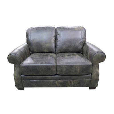 Boise Standard Leather Loveseat