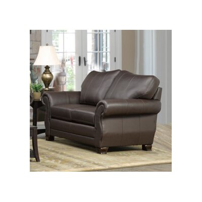 Huntington Italian Leather Loveseat