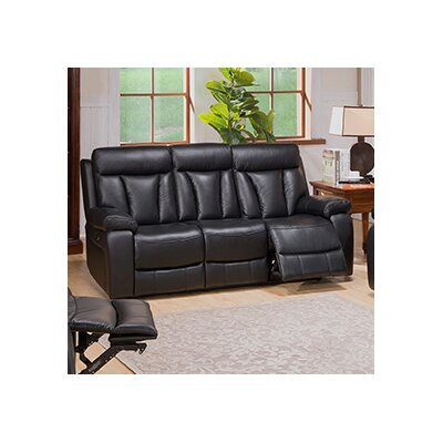Plymouth Leather Reclining Sofa
