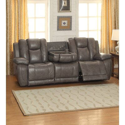 Fleetwood Leather Reclining Sofa