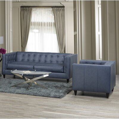Pranzal 2 Piece Living Room Set