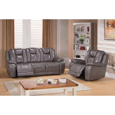 Red Barrel Studio RDBT4521 Fae Power 2 Piece Living Room Set
