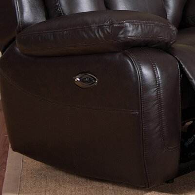 Mickey Power 2 Piece Leather Match Living Room Set