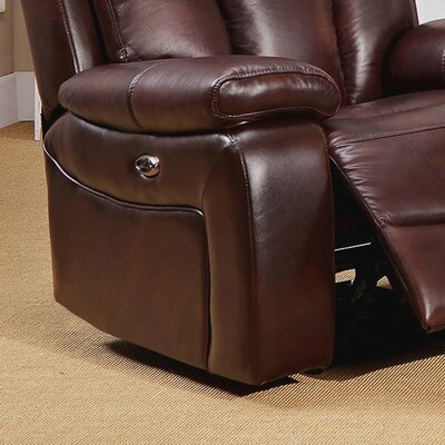 Lenny Power 2 Piece Leather Match Living Room Set