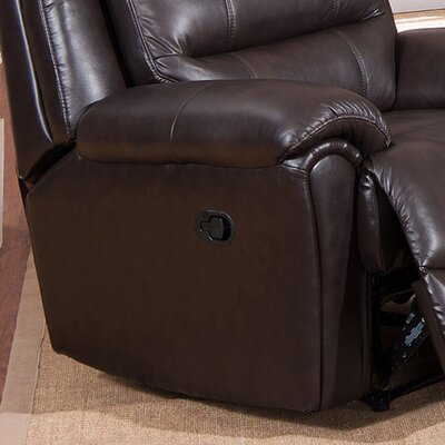 Lorretta 3 Piece Leather Living Room Set