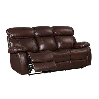 Novoa Leather Reclining Sofa