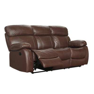 Lahti Leather Reclining Sofa