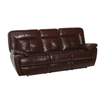 Doegolia Leather Power Reclining Sofa
