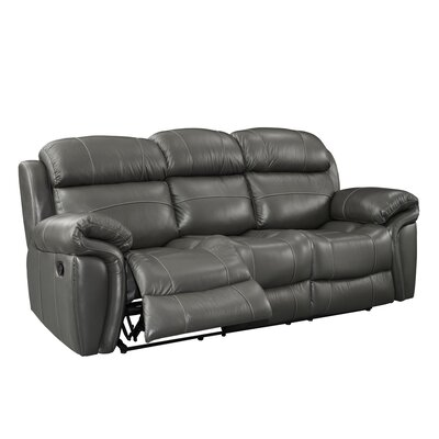 Glausen Leather Power Reclining Sofa