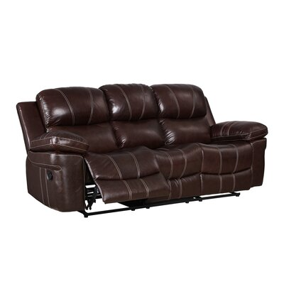 Bibbs Leather Power Reclining Sofa