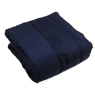 Throw Blanket Color: Navy
