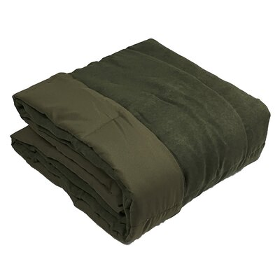 Throw Blanket Color: Olive