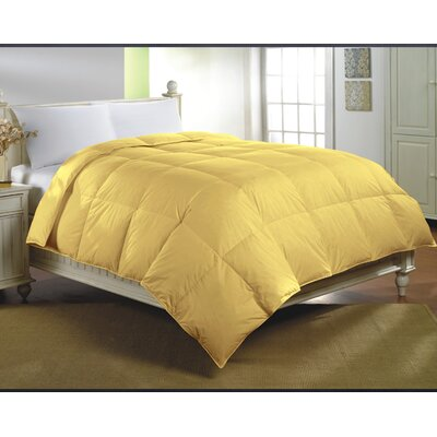 Midweight Down Alternative Comforter Size: King