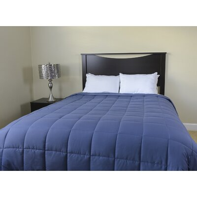Down Alternative Throw Blanket Size: King / Cal King, Color: Blue