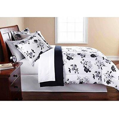 Samson Floral 8 Piece Bed-In-a-Bag Set