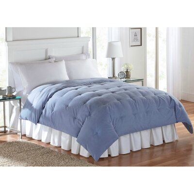 Barron Super Soft Luxe Comforter Size: Twin, Color: Blue