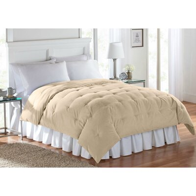 Barron Super Soft Luxe Comforter Size: King, Color: Yellow