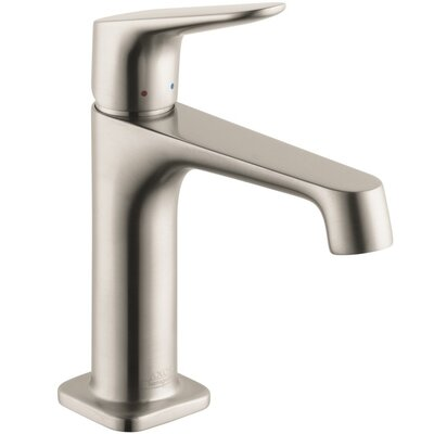 Axor Citterio Single Handle Single Hole Standard Bathroom Faucet Finish: Brished Nickel