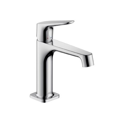Axor Citterio Single Handle Single Hole Standard Bathroom Faucet Finish: Chrome