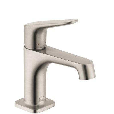Axor Single Handle Single Hole Standard Bathroom Faucet Finish: Brushed Nickel