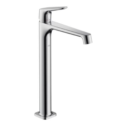 Axor Single Handle Single Hole Standard Bathroom Faucet Finish: Satin Nickel