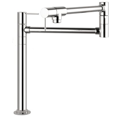 Axor Starck Double Handle Deck Mounted Pot Filler Faucet Finish: Chrome