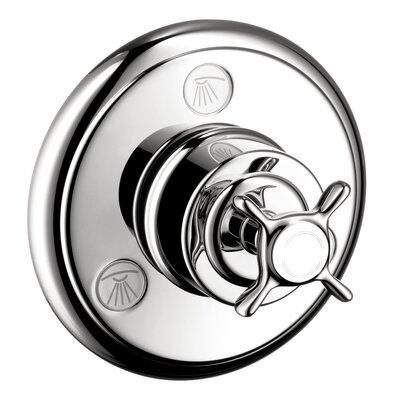 Axor Montreaux Quattro/Trio Shower Faucet Diverter Finish: Chrome