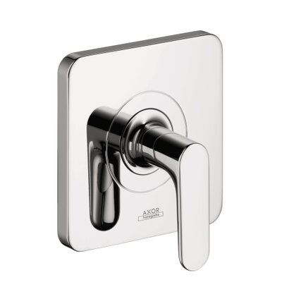 Axor Citterio M Volume Control Shower Faucet Trim Finish: Brushed nickel