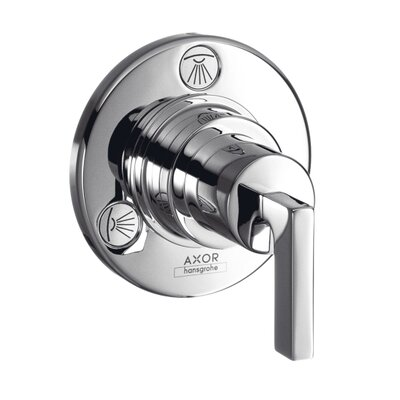 Axor Citterio Trio/Quattro Diverter Faucet Trim with Lever Handle Finish: Chrome