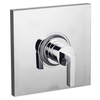 Axor Citterio Pressure Balance Faucet Trim with Lever Handle Finish: Chrome
