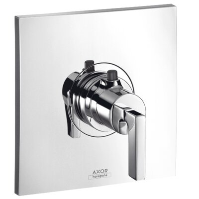 Axor Citterio Thermostatic Faucet Trim with Lever Handle Finish: Chrome