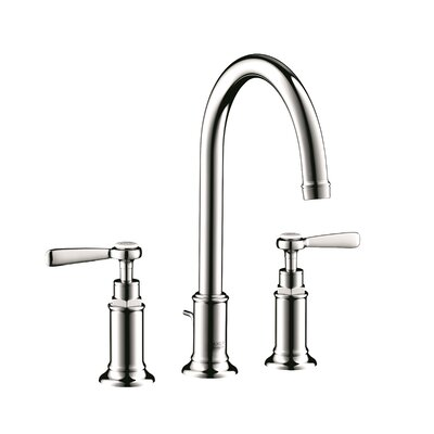 Axor Montreux Double Handle Widespread Bathroom Faucet Finish: Chrome