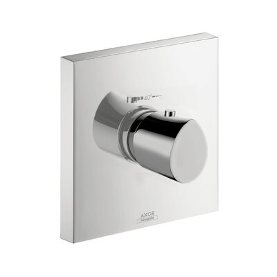 Axor Starck Organic Thermostatic Faucet Trim with Lever Handle